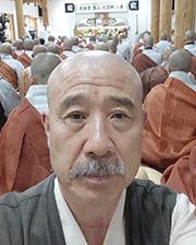 설악당 무산대종사 49재에 참석한 보검 스님